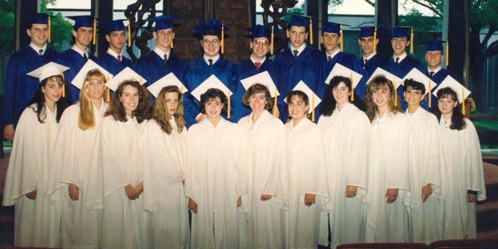 First High School graduation